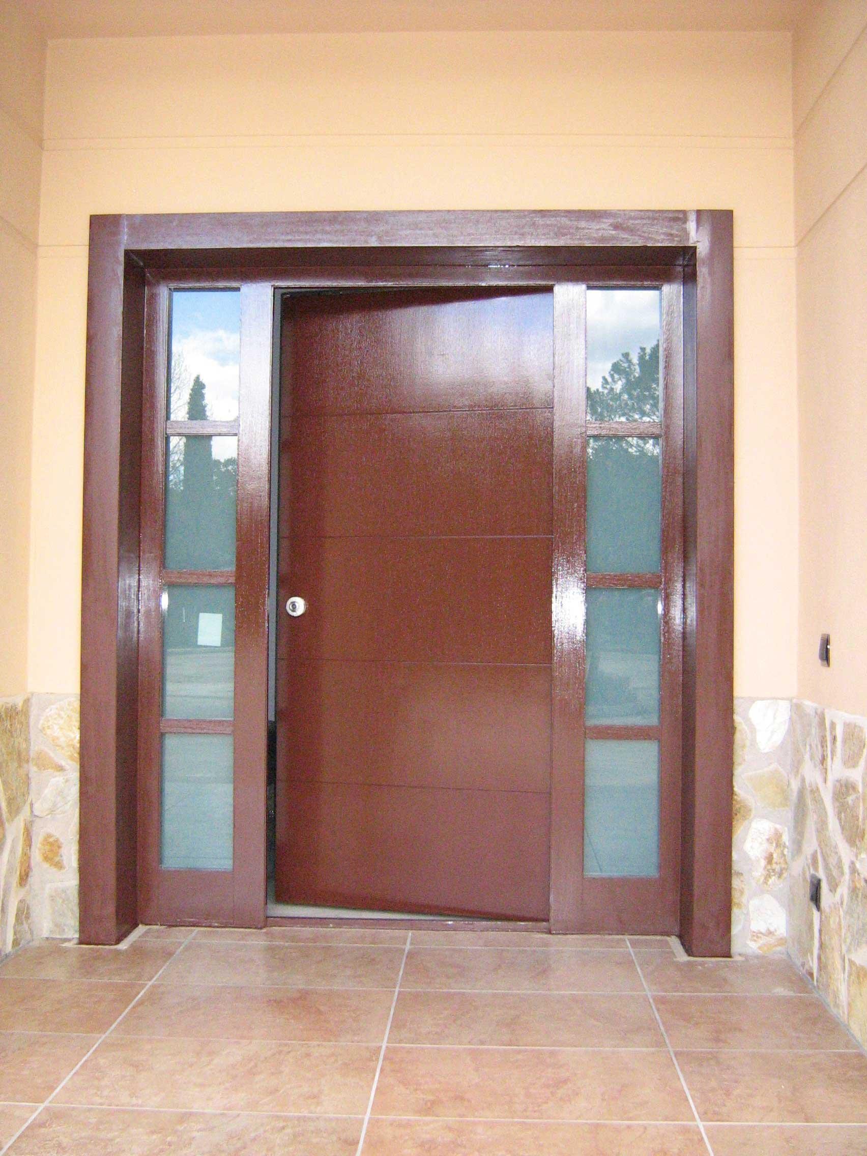 Puertas con decoraciones especiales vidrio - Puertas de vidrios ...