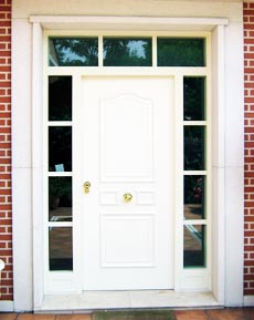 Puerta acorazada para chalets fichet madrid - Puertas de chalet ...