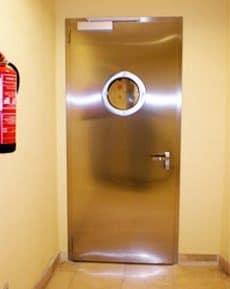 puerta cortafuegos