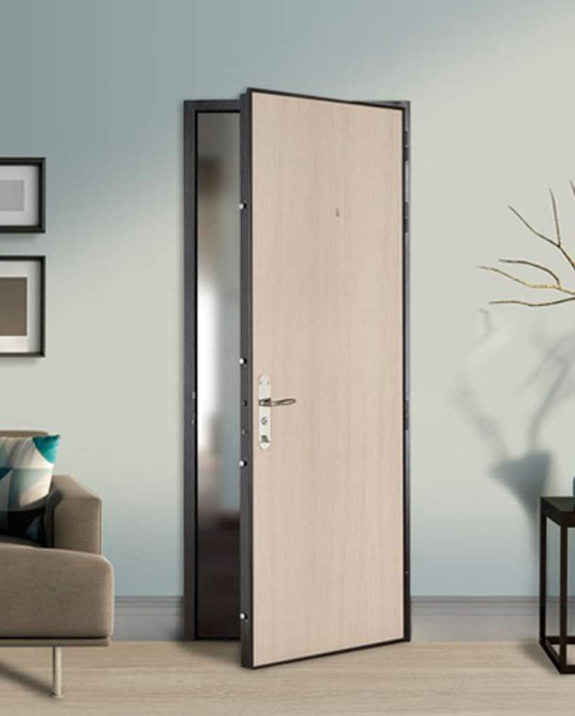 Puertas acorazadas para pisos fichet madrid for Joint de porte interieur maison