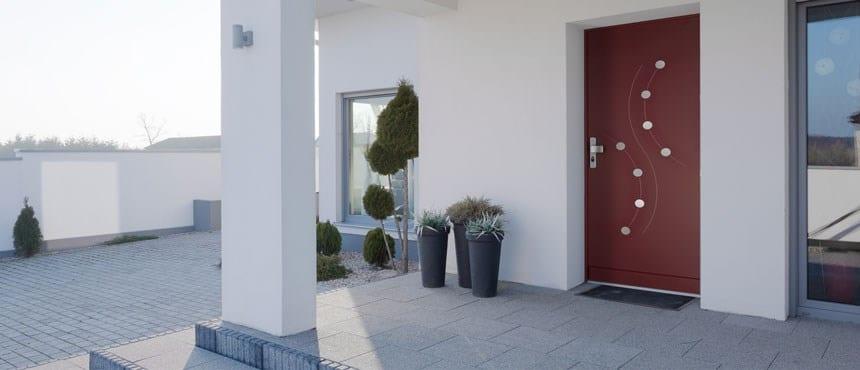 Puertas acorazadas para chalet forstyl de fichet - Puertas de chalet ...