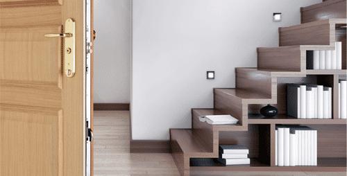 Puertas de seguridad para pisos