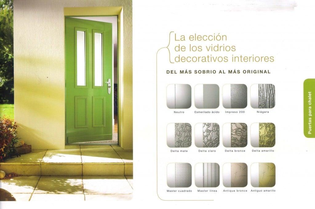 Puertas con decoración especial