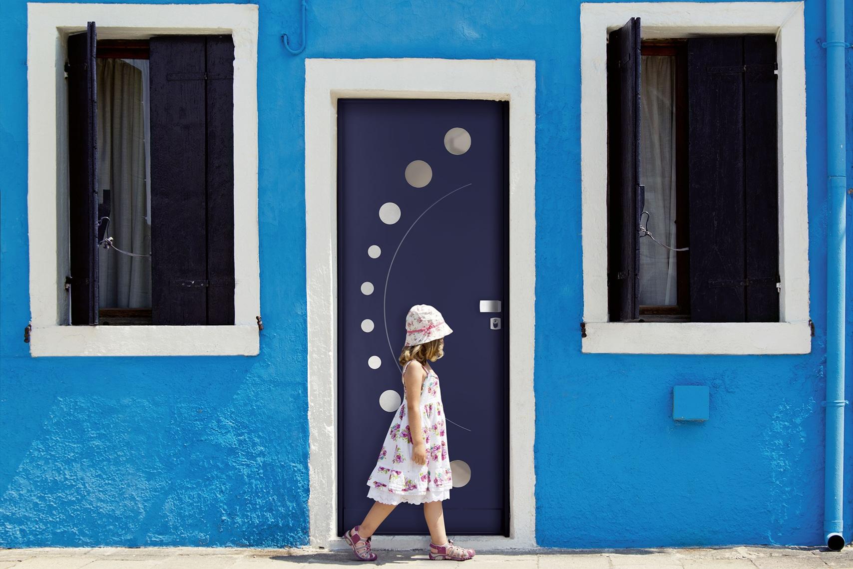 puerta para viviendas unifamiliares