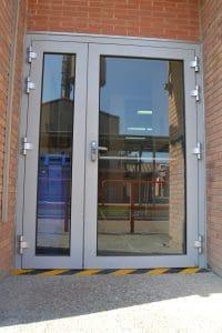 puerta cortafuegos para planta quimica