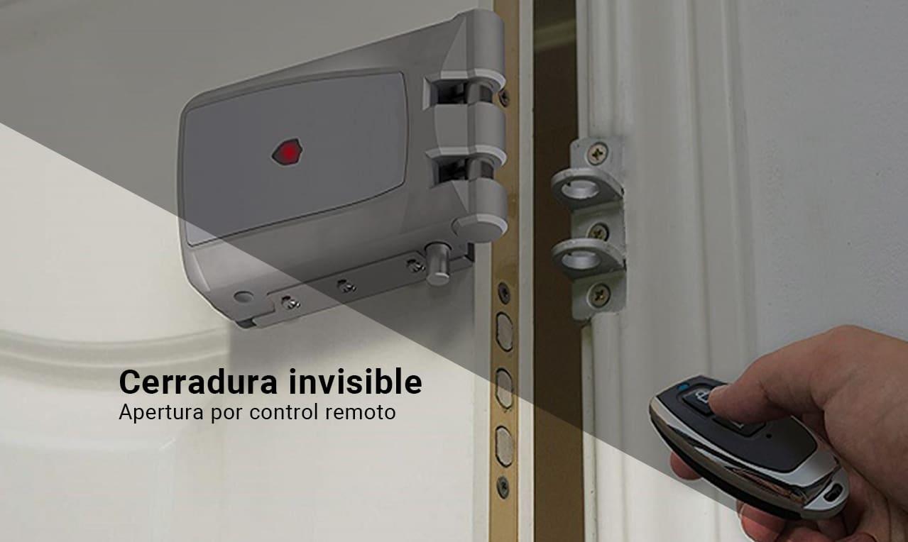 cerradura invisible eléctrica